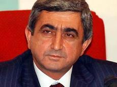 премьер - министр РА Серж Саркисян
