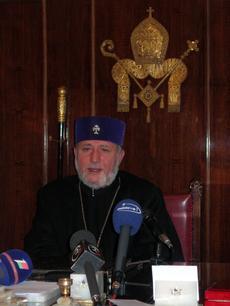 Верховный Патриарх, Католикос всех армян Гарегин II.