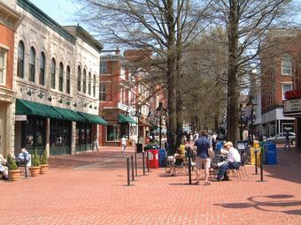 город Шарлоттесвиль, Вирджиния