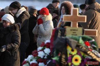 Похороны жертв трагедии в Перми