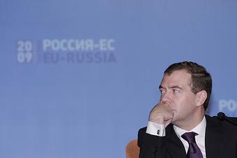 ХАБАРОВСК. На пресс-конференции по итогам саммита Россия–Евросоюз.