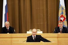 Владимир Путин: «Судьба страны не должна зависеть от одного человека...»