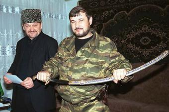 Ахмад Кадыров и Руслан Ямадаев